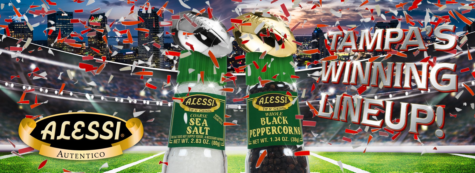 Add a winning twist to your big game day party!
