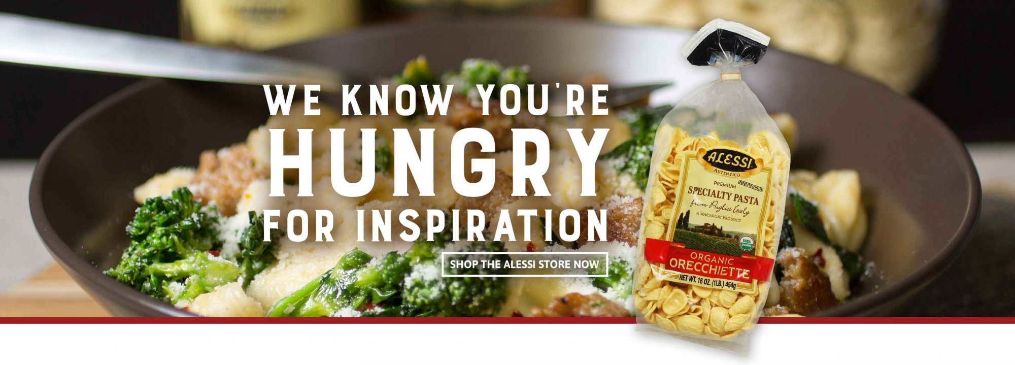 We know you're hungry for inspiration