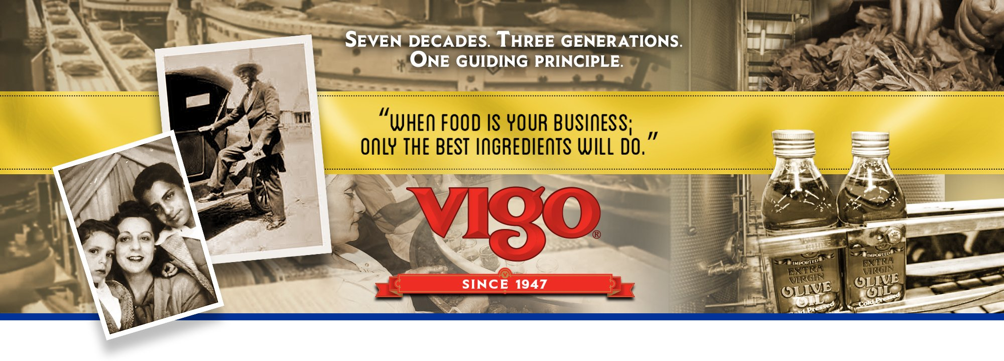Vigo - Good food since 1947