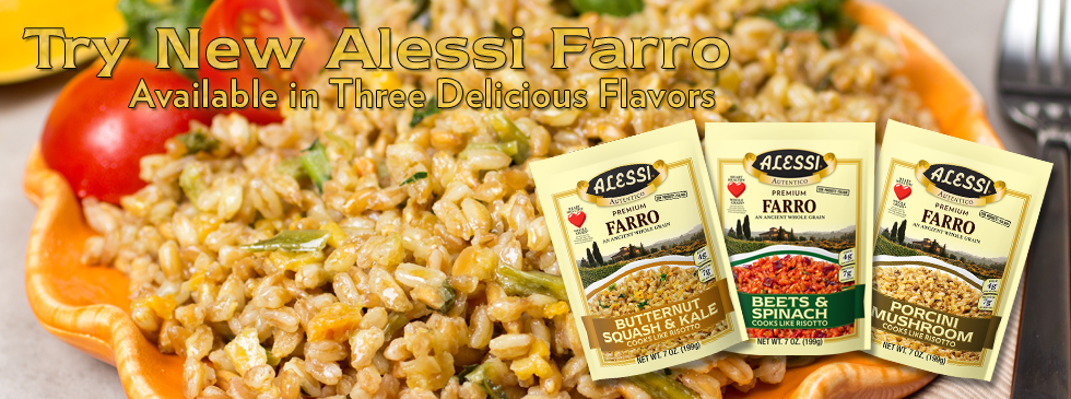 Try New Alessi Farro!
