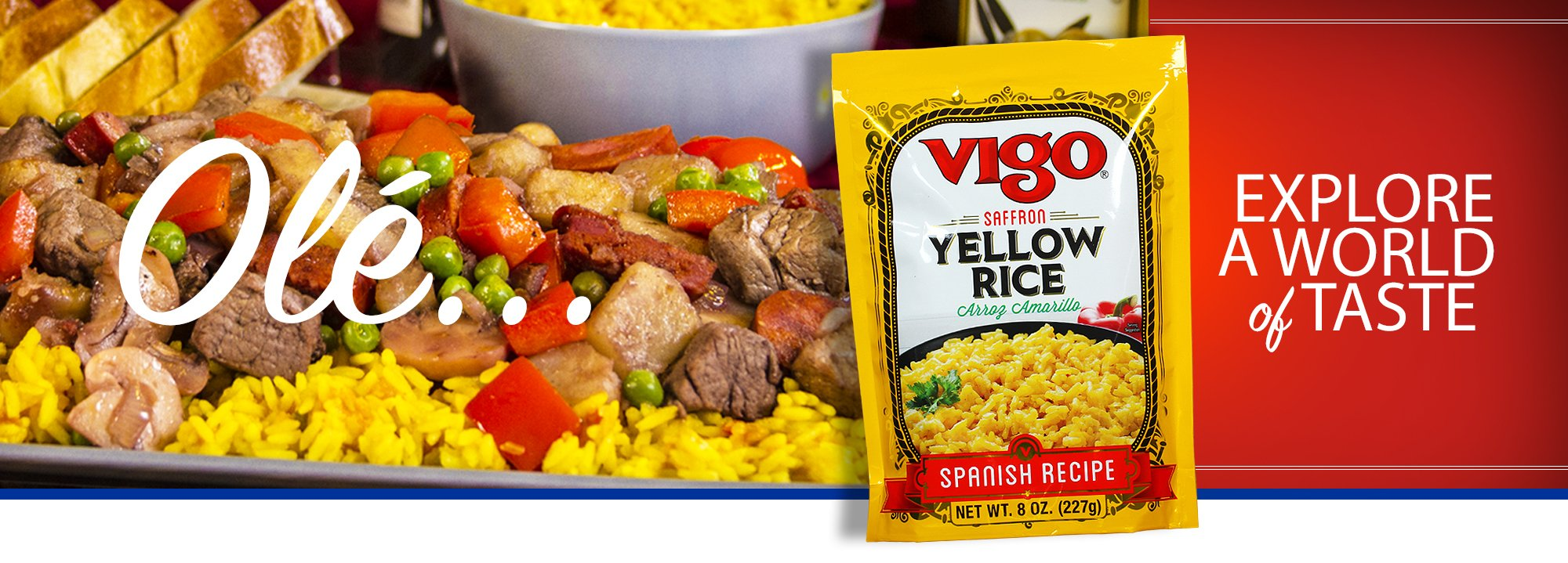 A world of taste - Vigo Yellow Rice