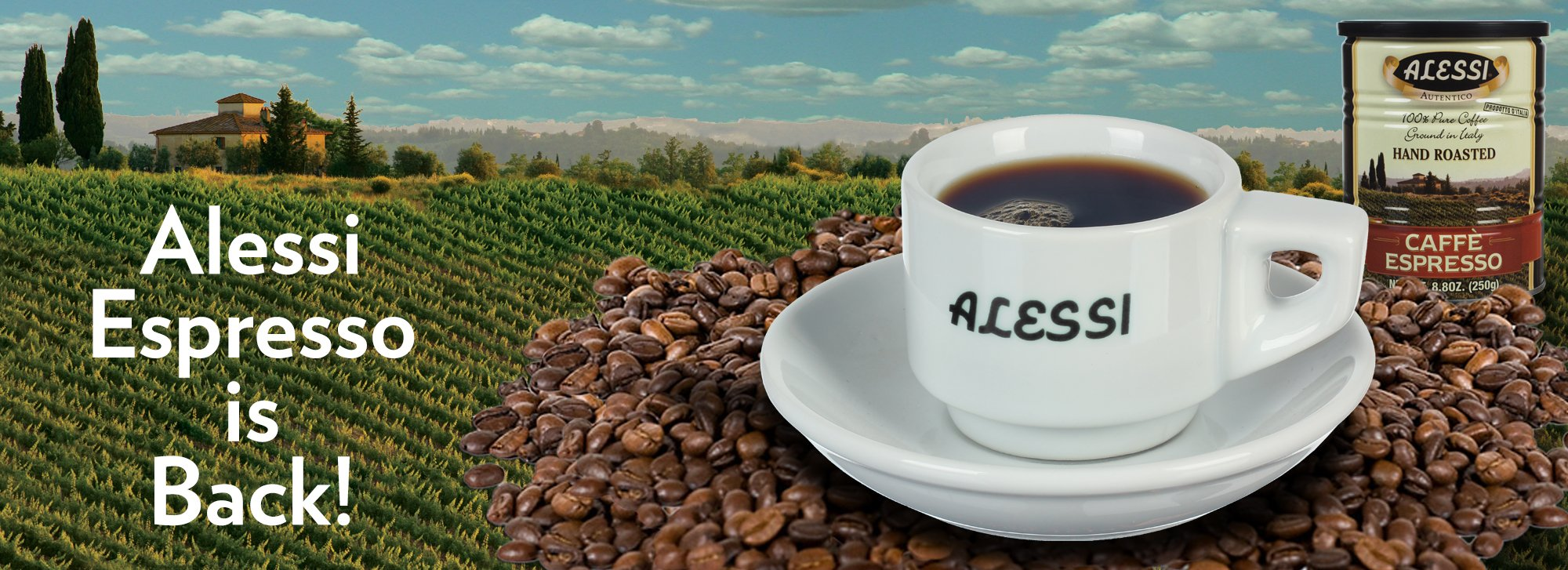 Alessi Espresso is Back!