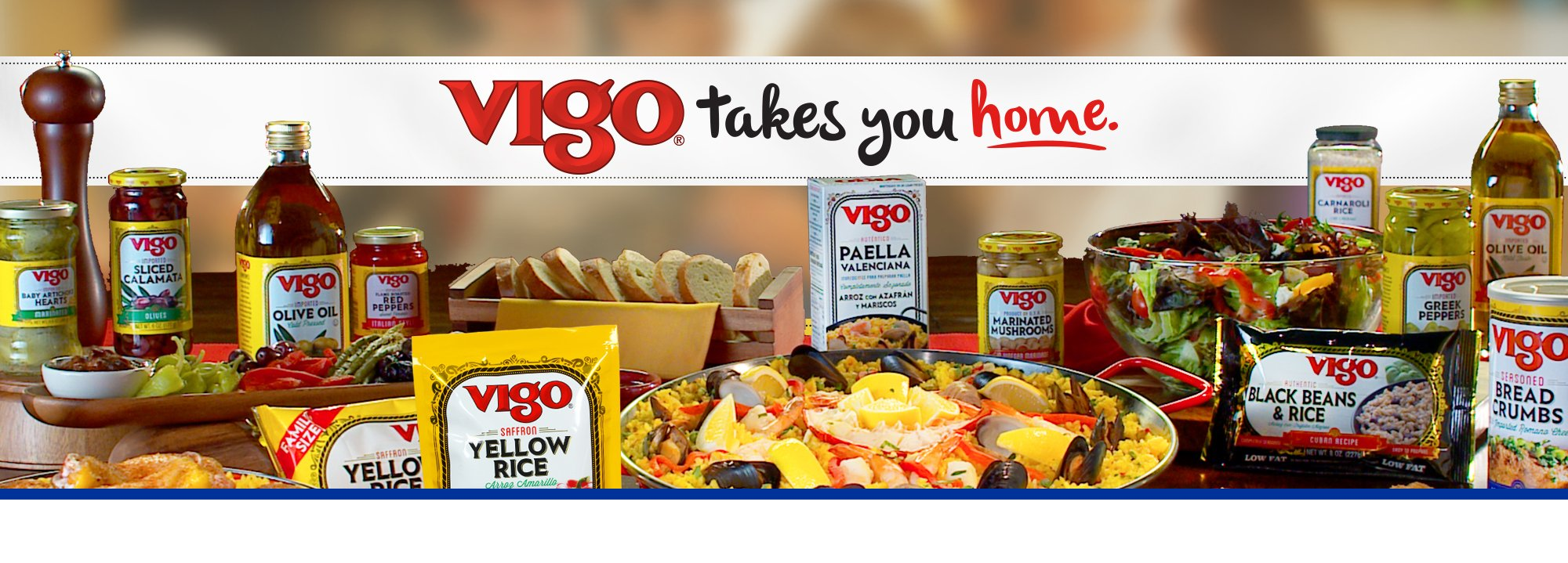 Let Vigo take you home with delicious recipes